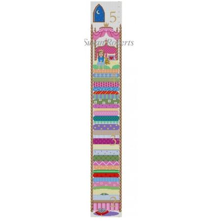 Princess and the Pea Growth Chart