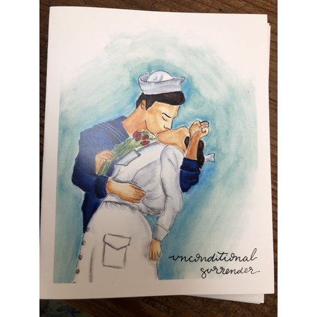 Unconditional Surrender Cards