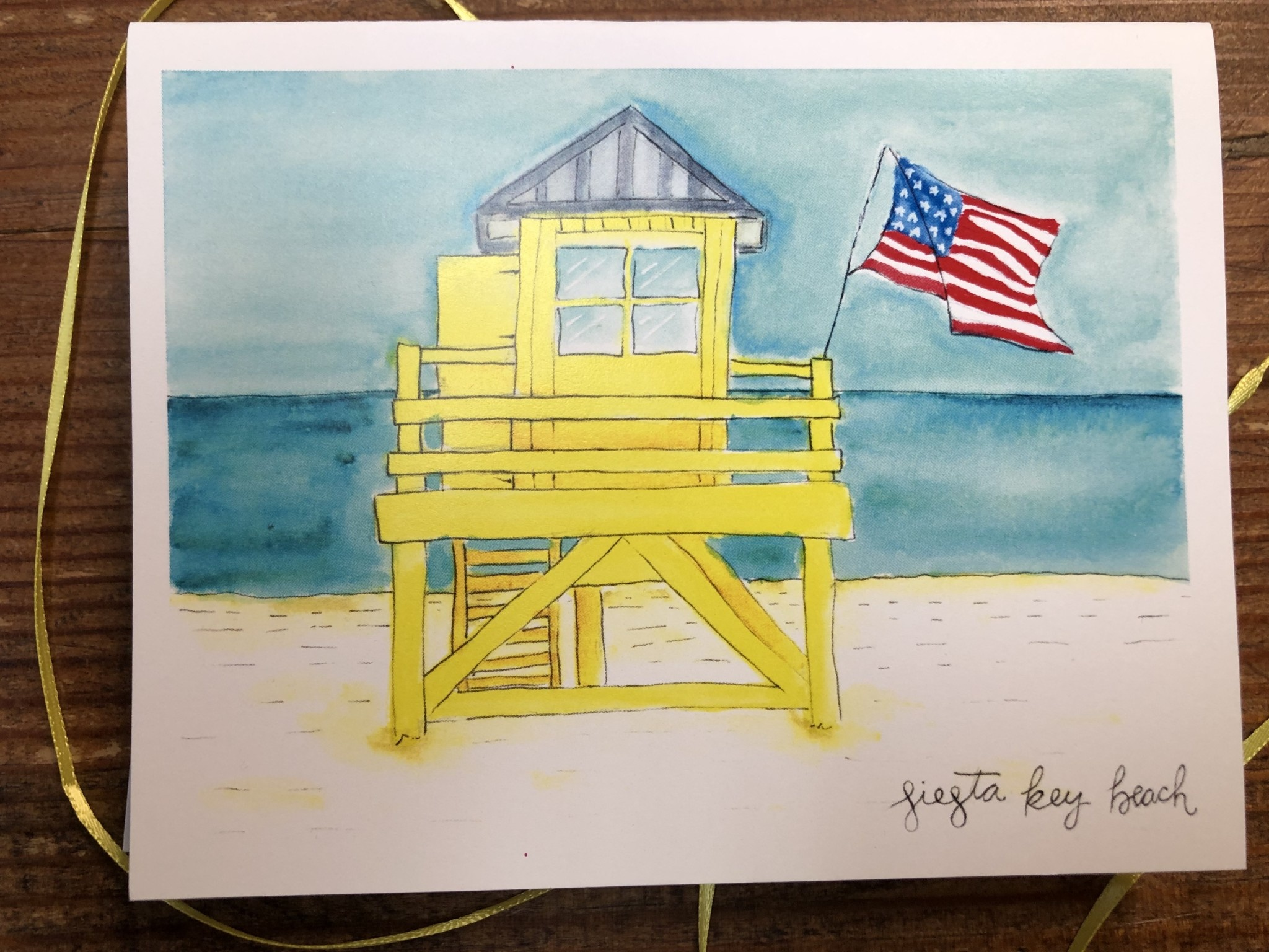 Siesta Key Beach Cards
