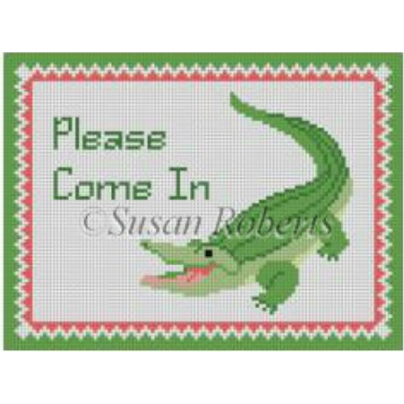 "Alligator ""Please Come In"""
