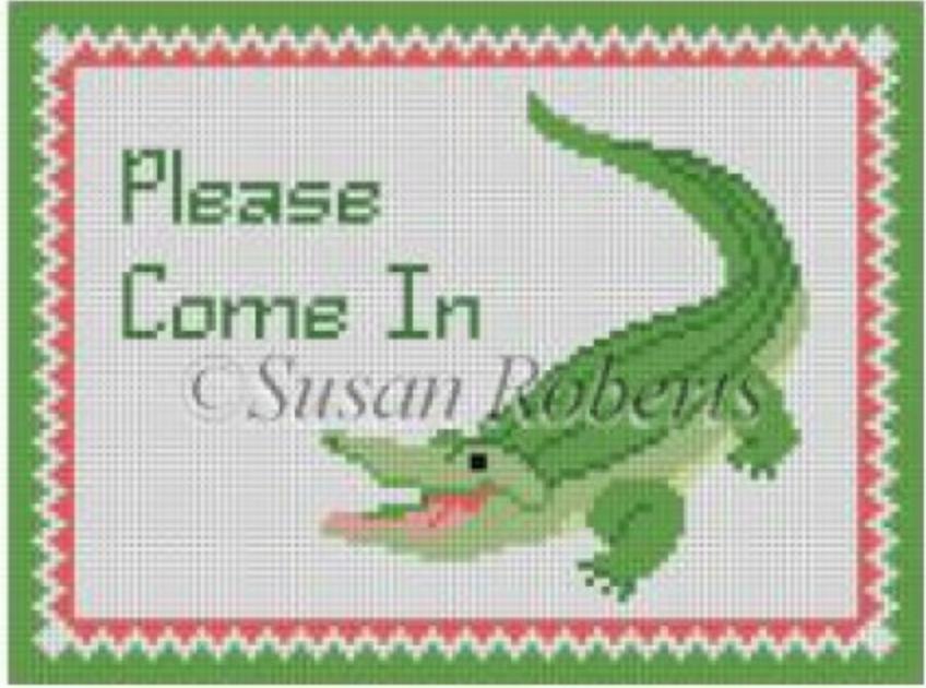 """Alligator """"Please Come In"""""""