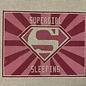Supergirl Sleeping
