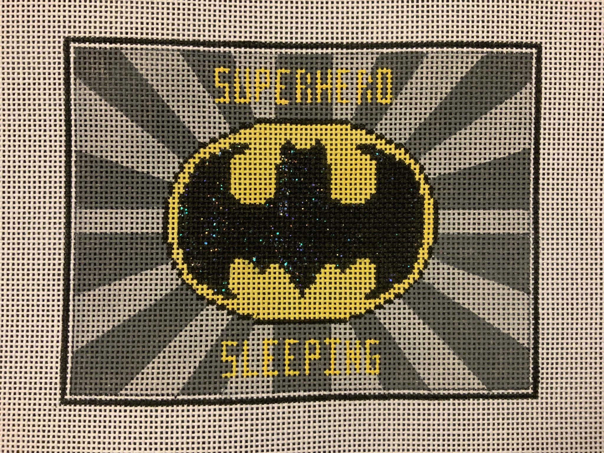 Superhero Sleeping Batman