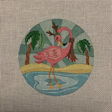 Reindeer Flamingo