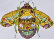 Bee Earth Art