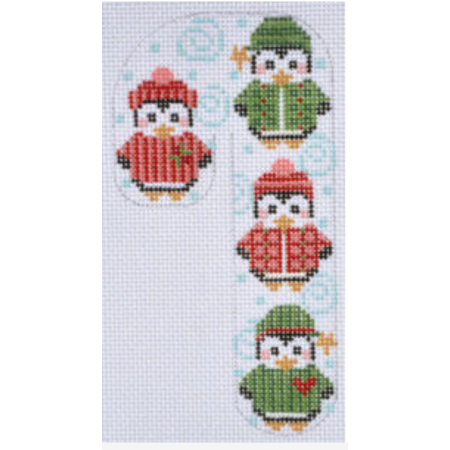 Penguin Candy Cane with sweater