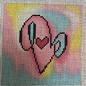 PE Insert for Square Jew Box- Love Hearts Box