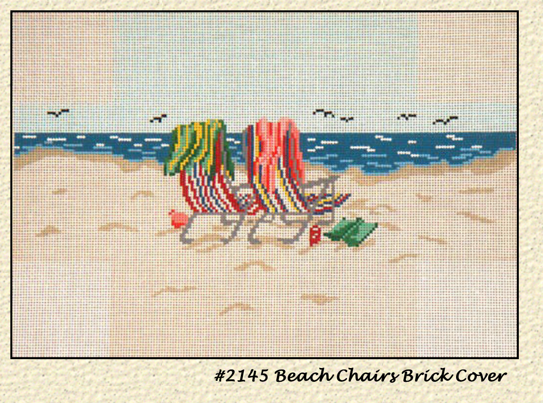 Beach Chairs Brick Cover