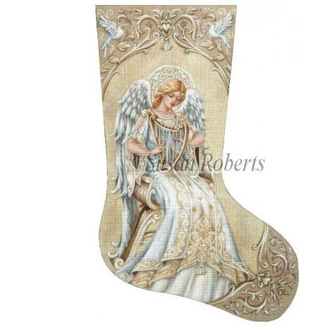 Ivory Angel Stocking