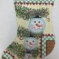 Snowman Mini Stocking