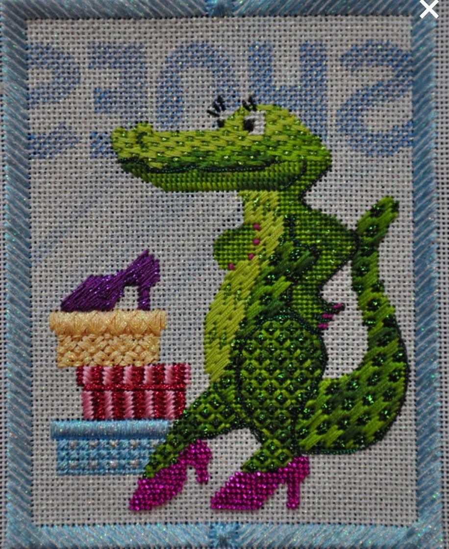 Imelda Alligator - Not Stotched