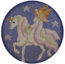 Unicorn with Rider