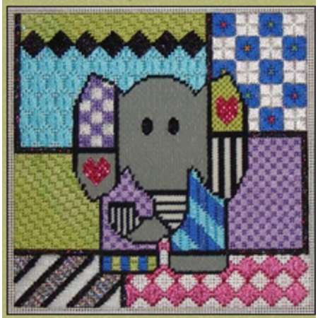 Colorful Elephant & Stitch Guide