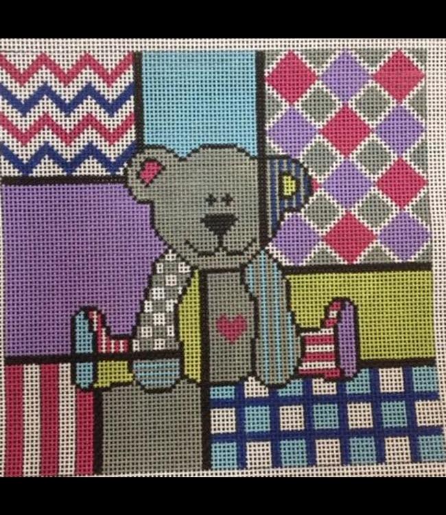 Colorful Bear & Stitch Guide