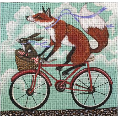 Fox and Rabbit Bike Ride