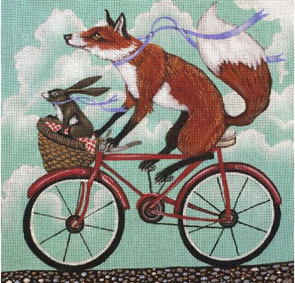 Fox and Rabbit Bike Ride
