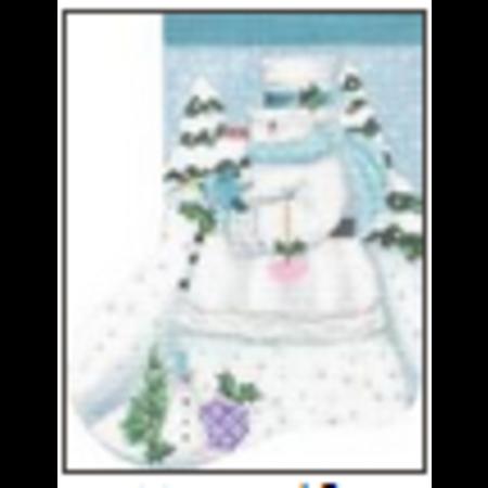 Winter White Mini Stocking
