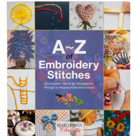 A to Z Embroidery Stitches
