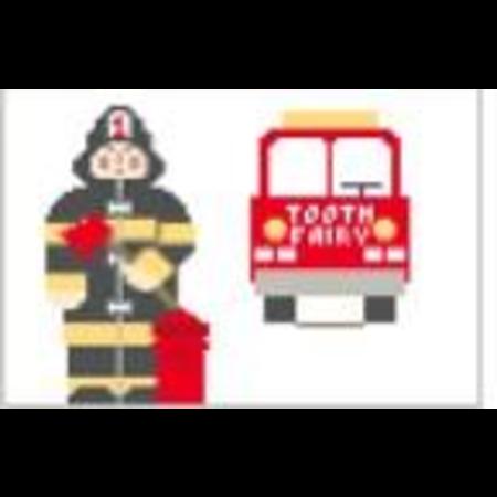 Fireman Toothfairy Pillow