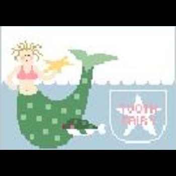 Mermaid Tooth Fairy Pillow