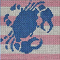 Crab Stencil Insert