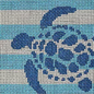 Sea Turtle Stencil Insert