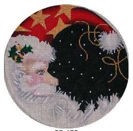 Santa Moon Round