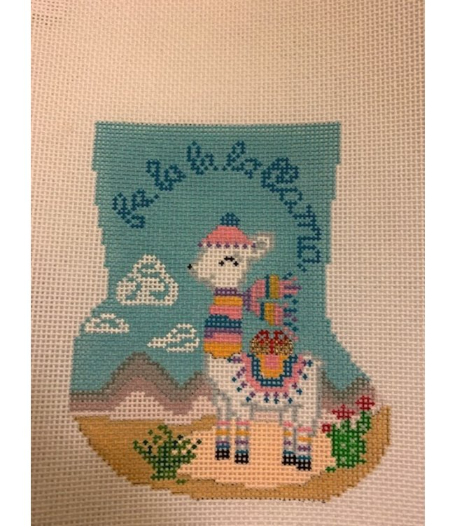 Fa La La Llama Mini Sock