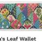 Olivia's Leaf Wallet Insert