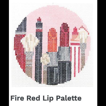 Fire Red Lip Pallette