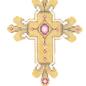 Cross Gold/Bronze/Red