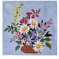 English Wildflower Basket