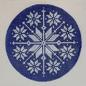 Blue Nordic Snowflake