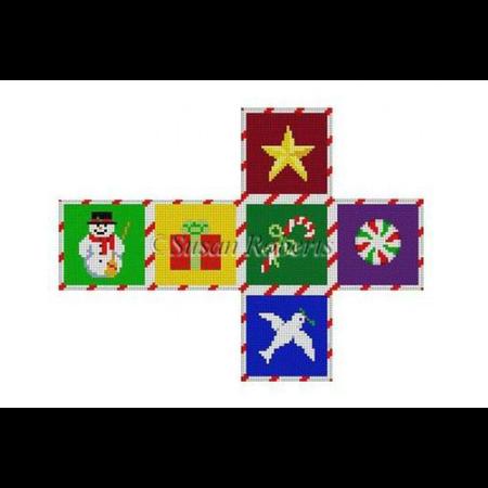 Christmas Times, Cube Ornament 18M