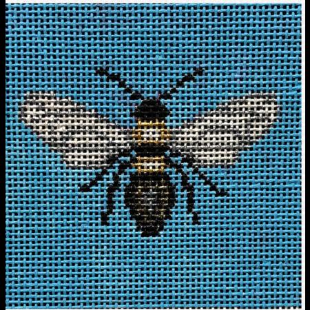 Bee on Turquoise