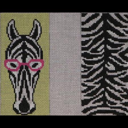 Zebra Double Sided Eye Glass Case