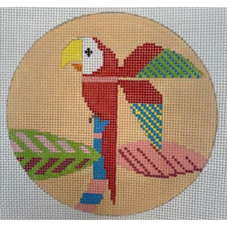 Macaw w/ Stitch Guide