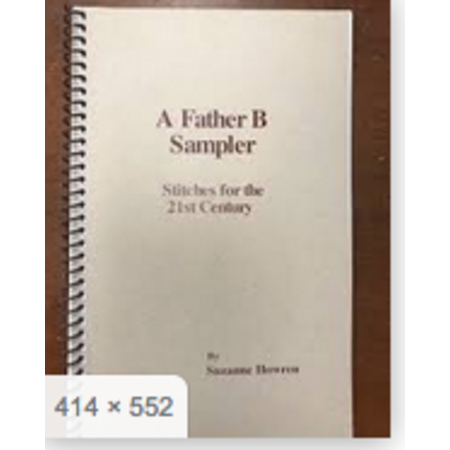 A Father B Sampler Stitch Book