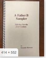 A Father B Sampler Stitch Book
