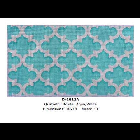 Quartefoil Bolser Aqua/White