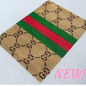 Gucci Brown Fold Over Wallet Insert