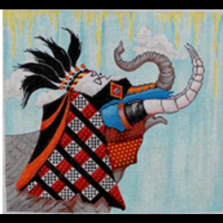 Elephant Tribal Mask