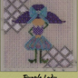 Purple Lady w/ Stitch Guide