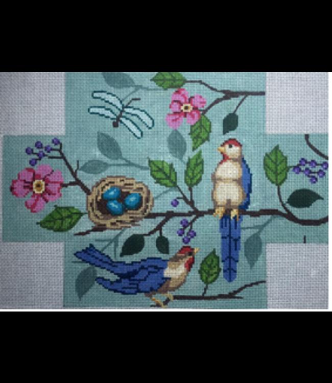 Bird Brick Blue