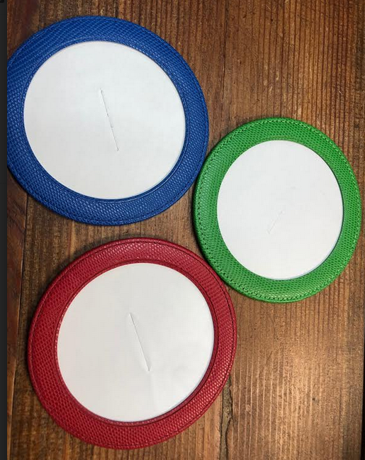 Magnetic Coaster - Green
