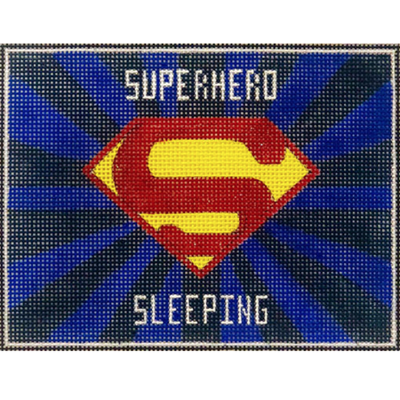 Superhero Sleeping SuperMan