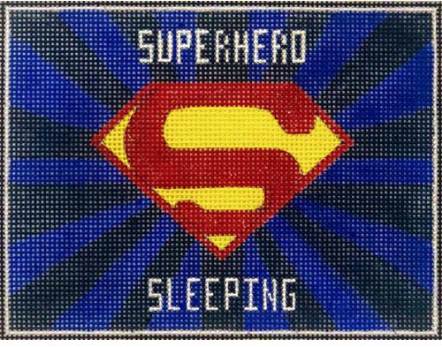 Superhero Sleeping SuperMan