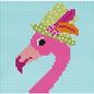 Flamingo with Hat