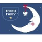 Moon Toothfairy Pillow w/Pocket