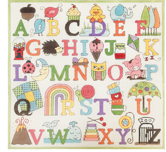 Upper Case Alphabet #4